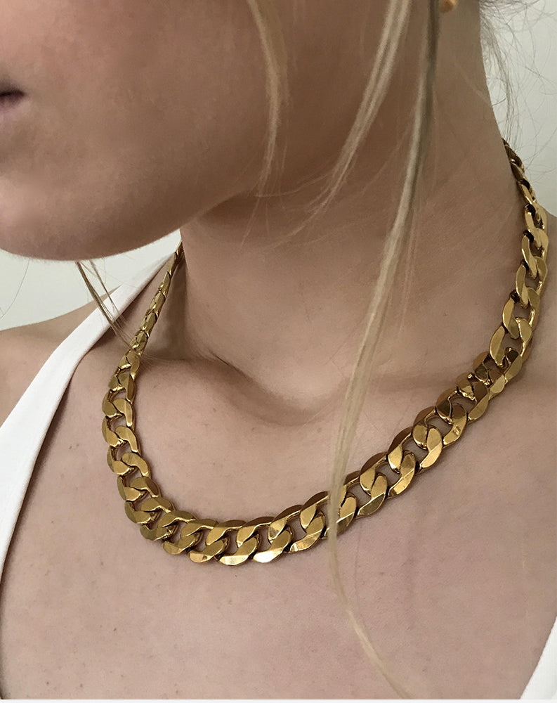 Queens XL Chain in Gold