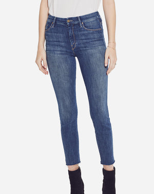 High Waisted Looker Ankle Fray in Not Rough Enough