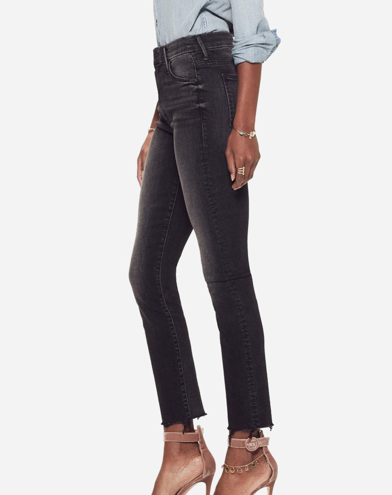 01b290b5035c5 Mother Denim High Waisted Looker Ankle Fray in Night Hawk – Punch ...