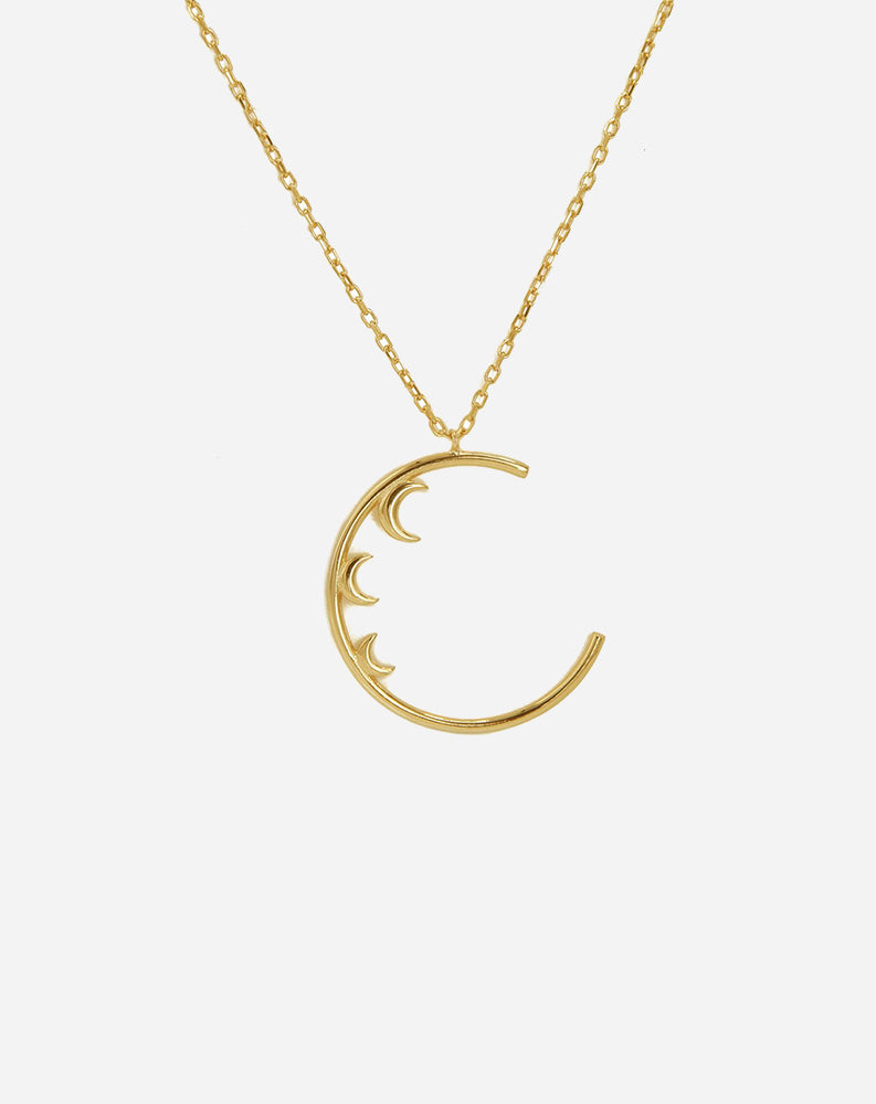 Moonlight Necklace in Gold