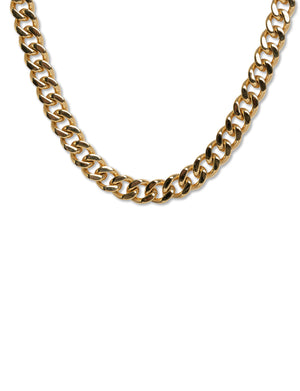 Clyde Necklace in 18K Gold Plate over Stainless
