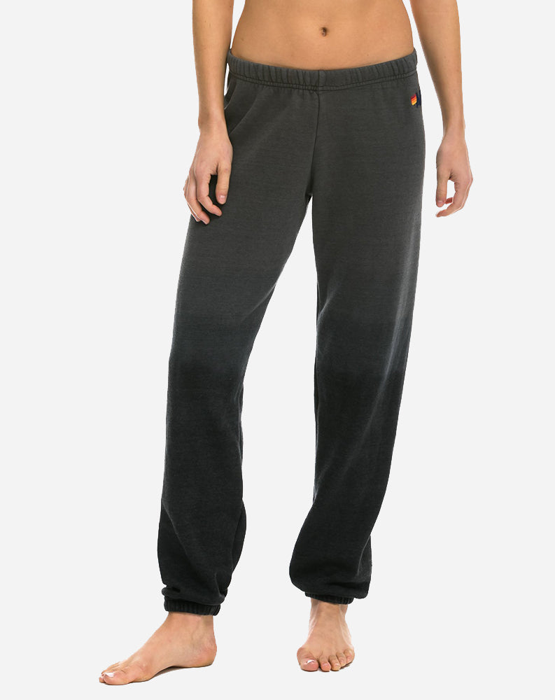 Faded Womens Sweatpant in Vintage Charcoal
