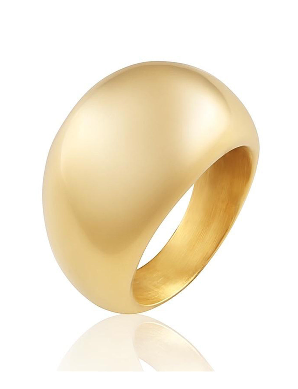 Dome Ring in Gold