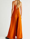Summer Jamboree Jumpsuit in Rust Combo
