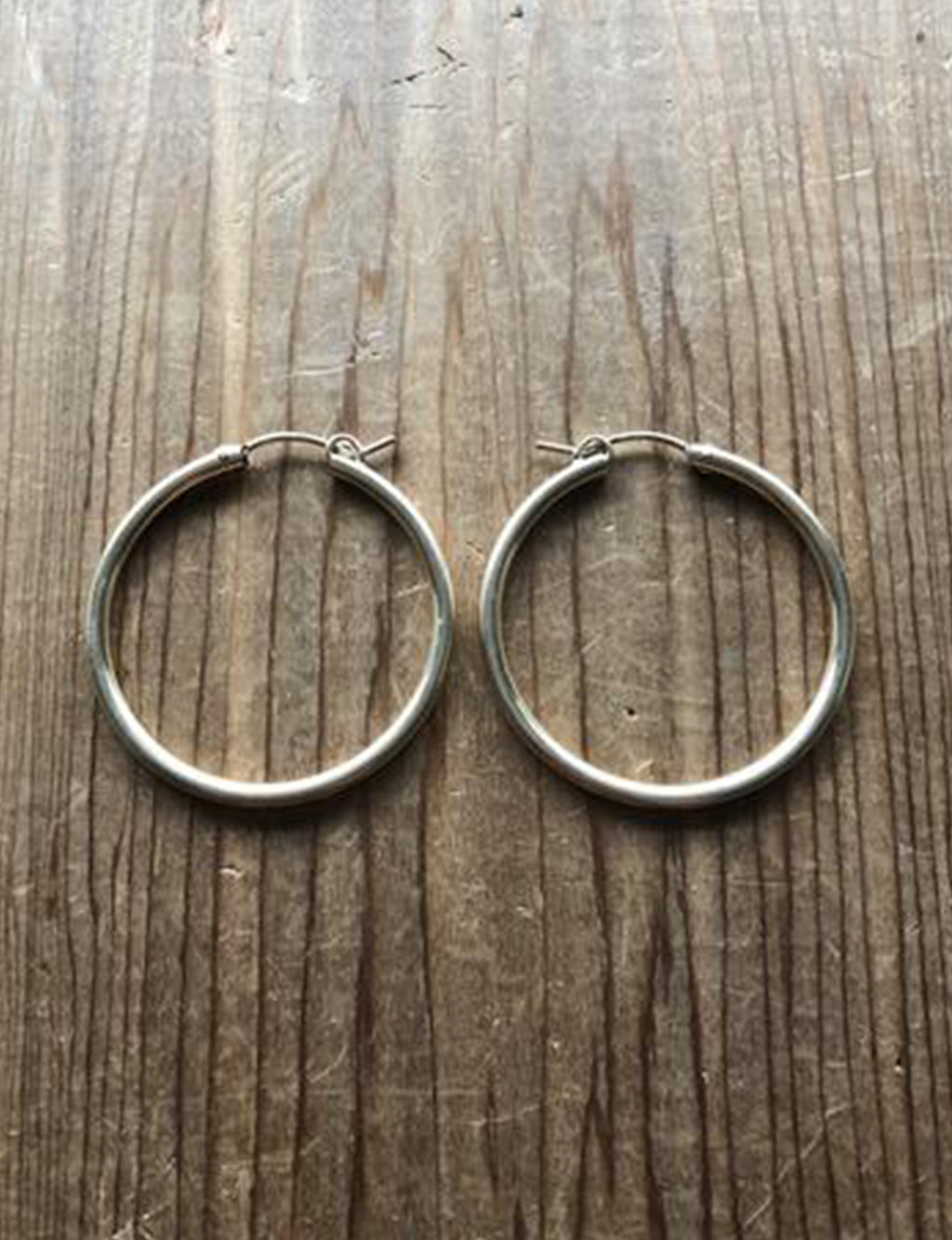 "Cherished Hoops 1.25"" in 14k Gold Fill"