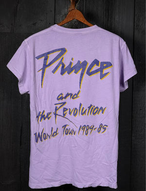 Madeworn Prince & The Revolution Doves Crew Tee in Lilac