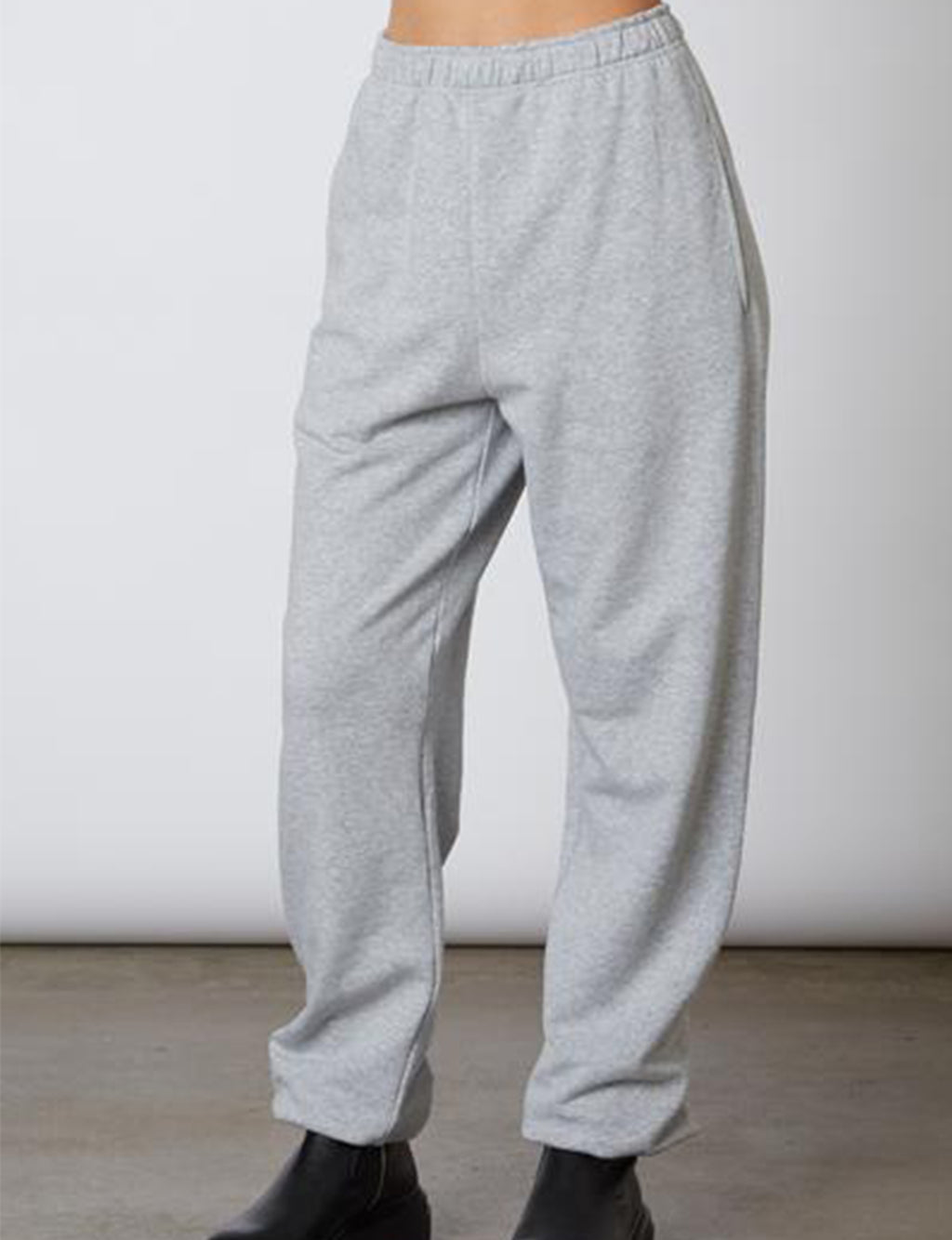 Oversized Sweatpant in Heather Grey