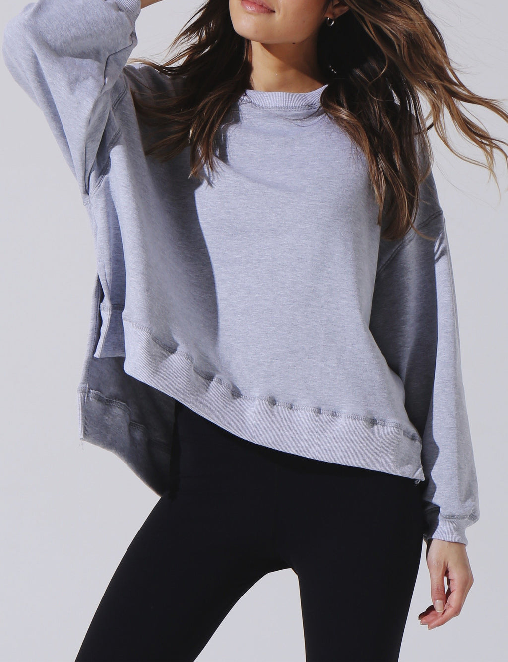 Neil Sweatshirt in Heather Grey