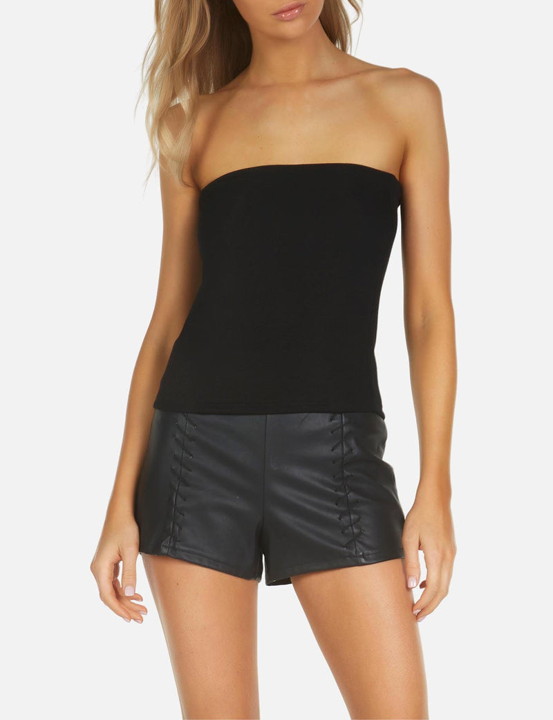 Axford Tube Top in Black