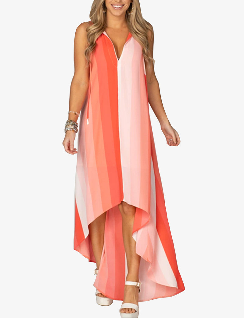 Buddy Love Campbell High Low Dress in Magic Hour