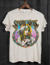 Stevie Nicks Crew Tee in Off White