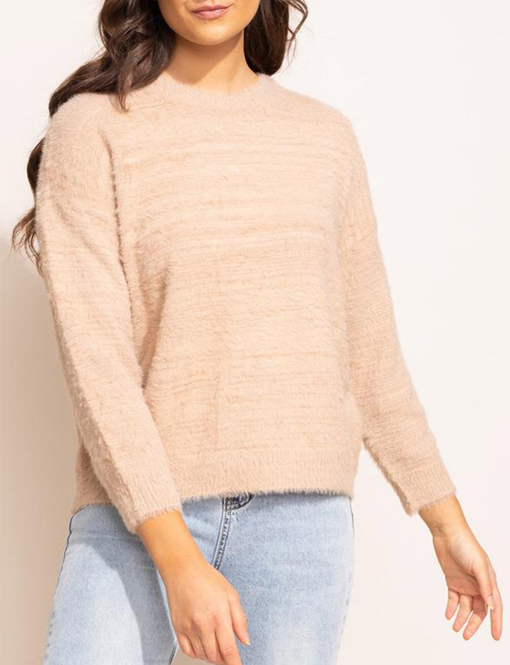 Billie Sweater in Beige
