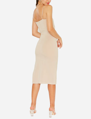 Soren Dress in Khaki
