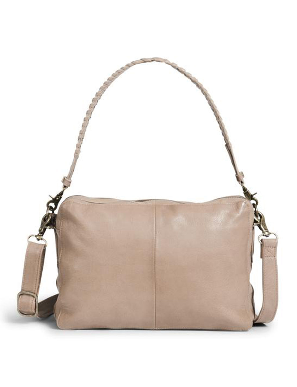 Kena Large Crossbody in Light Mocha