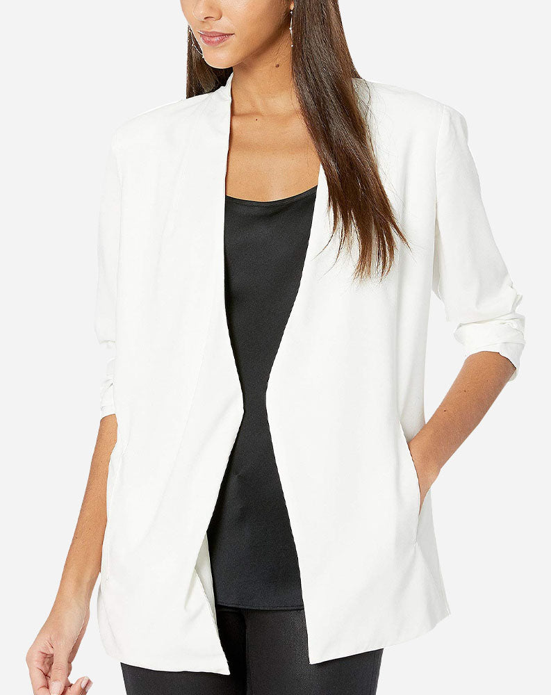 Veronica Blazer in Ivory