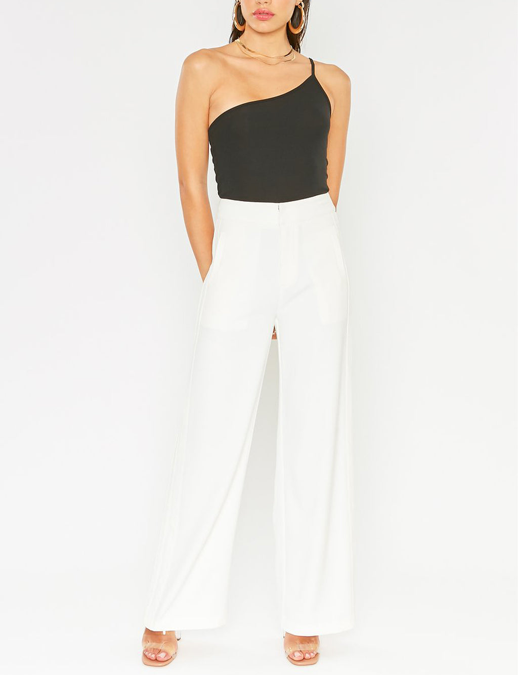 Monroe Pants in Off White