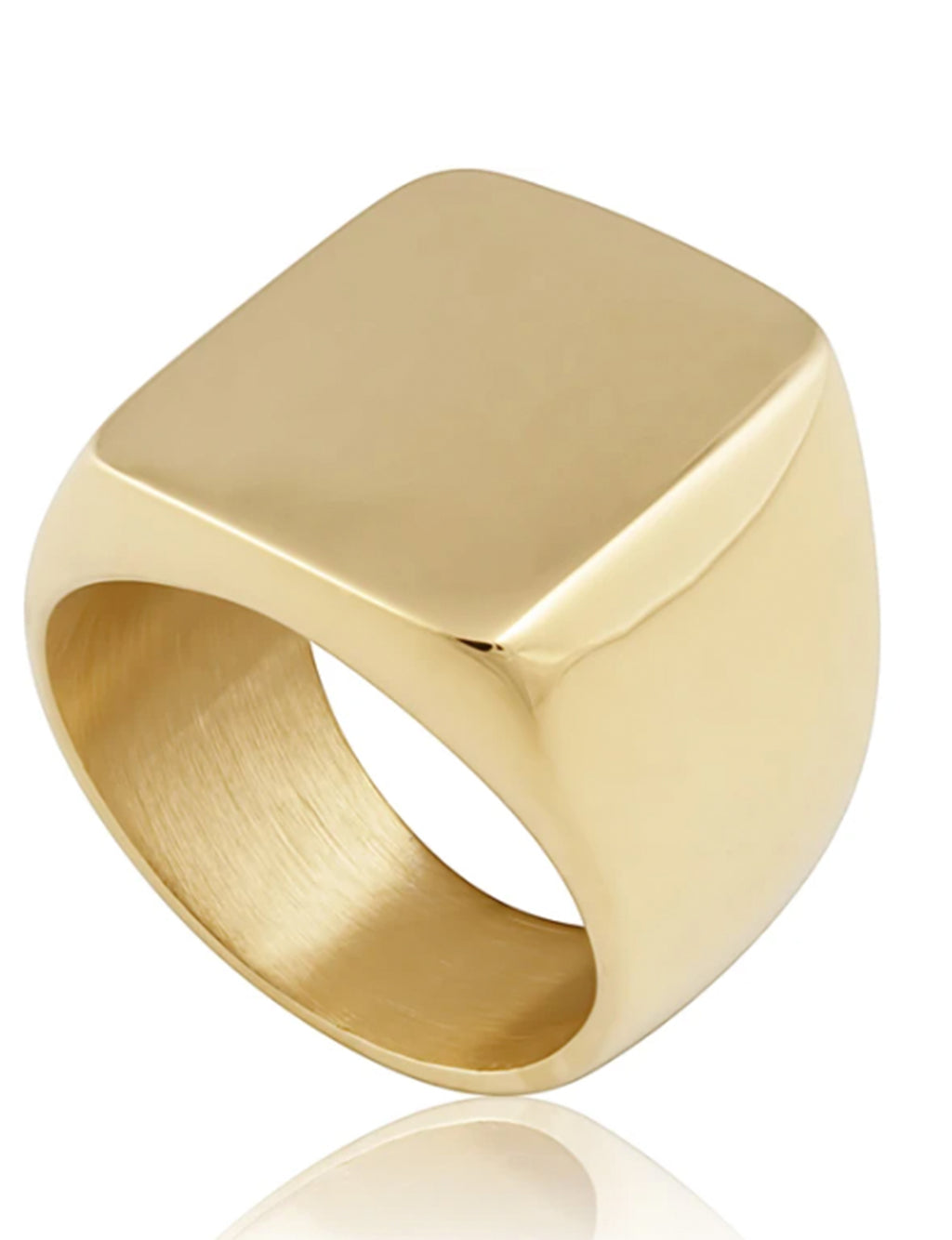 Dylan Chunky Ring 7 in Gold
