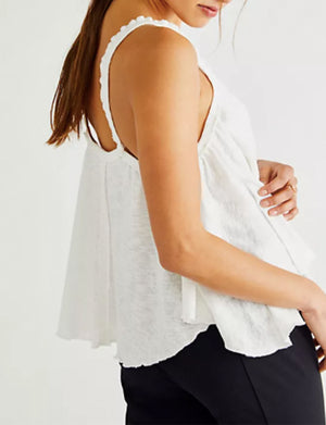 Dream Weaver Tank in Ivory