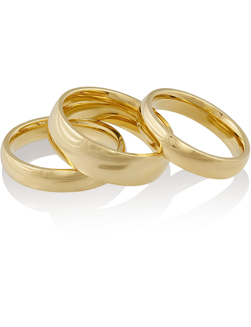 Stackable Ring Set in Gold