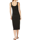 Knit It Off Dress in Black