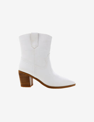 North Boot in White