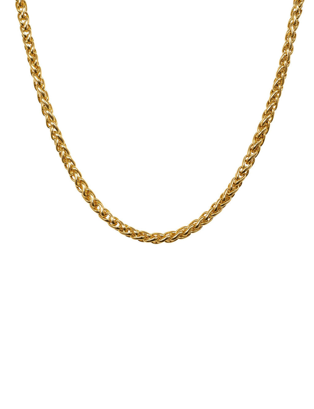 "Rope 18"" Layering Necklace in Gold Plate"
