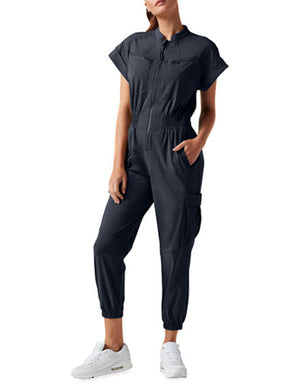 Mastermind Jumpsuit in Black
