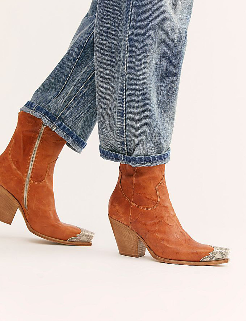 Brayden Western Boot in Tan
