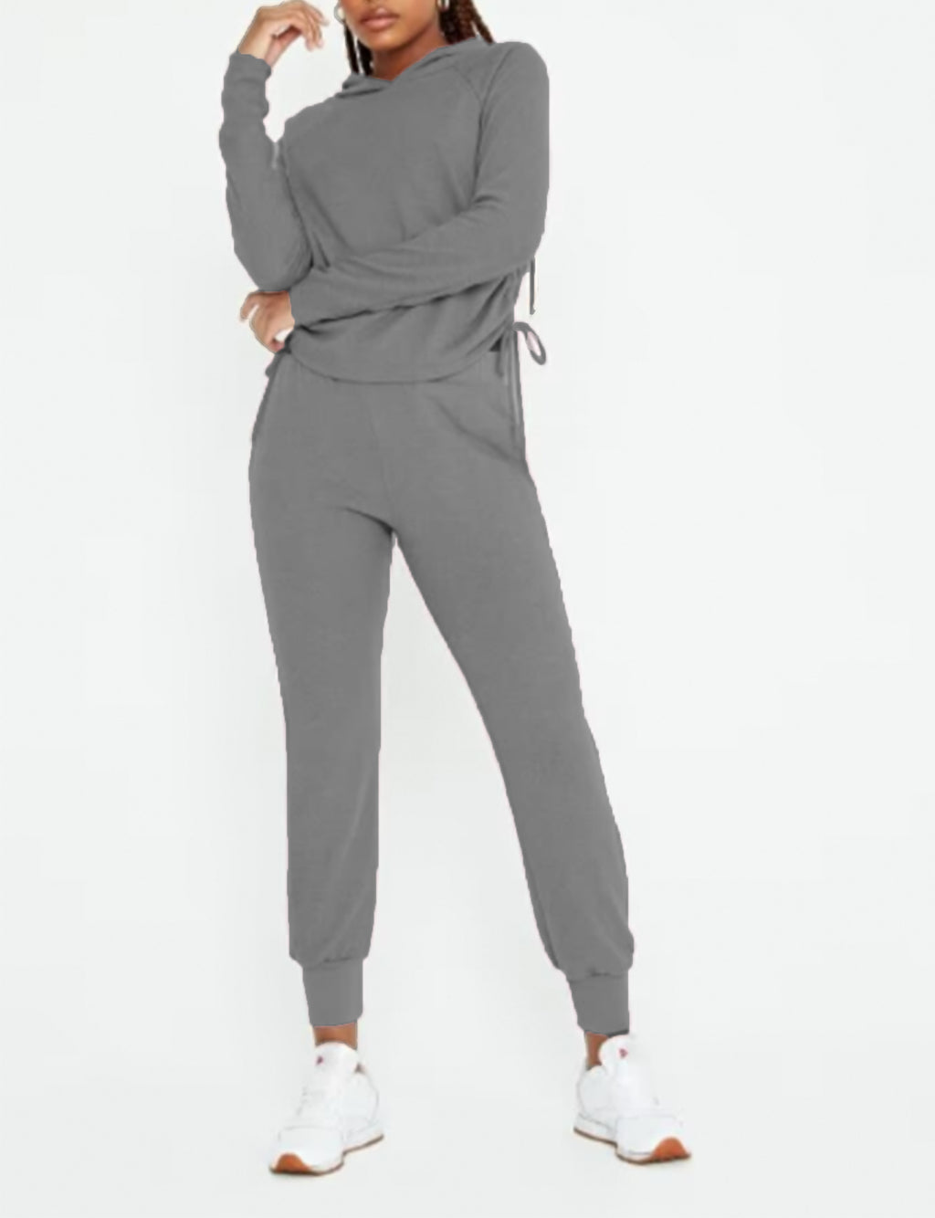 Easy Livin' Cozy Pant in Heather Grey
