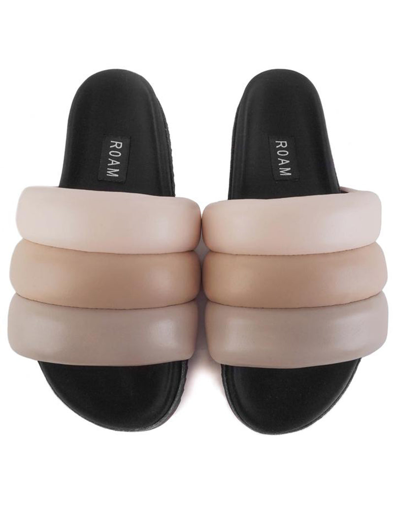 Puffy Slide in Nudes
