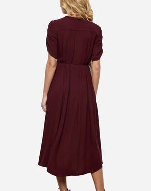 Sundance Dress in Wine