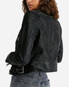 Fenix Vegan Moto Jacket in Black
