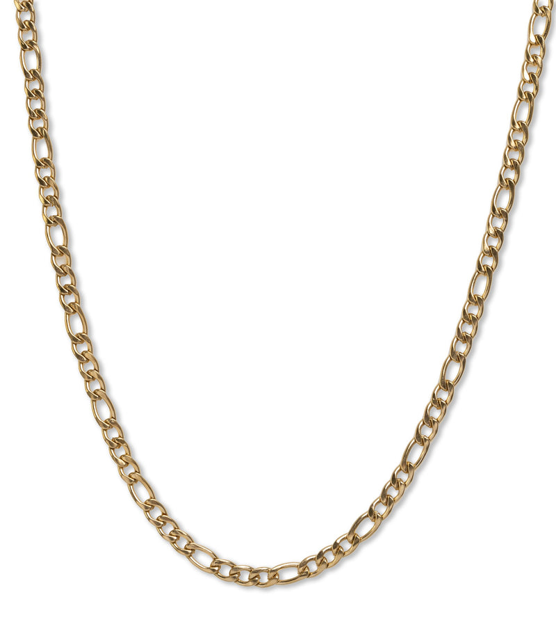 Melissa Figaro Necklace in 18K Gold Plate over Stainless