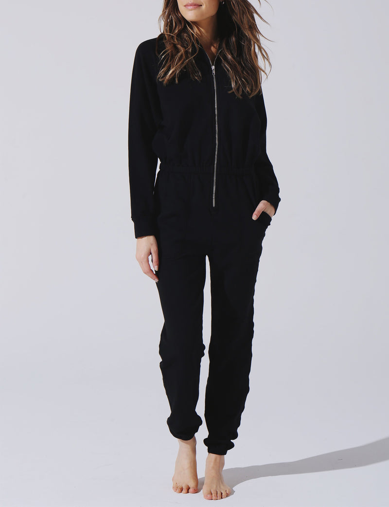 Mojave Jumpsuit in Onyx