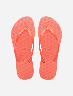 Havaianas Slim Sandal in Cyber Orange