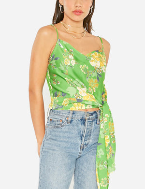 4 Sienna Elodie Top in Green Floral