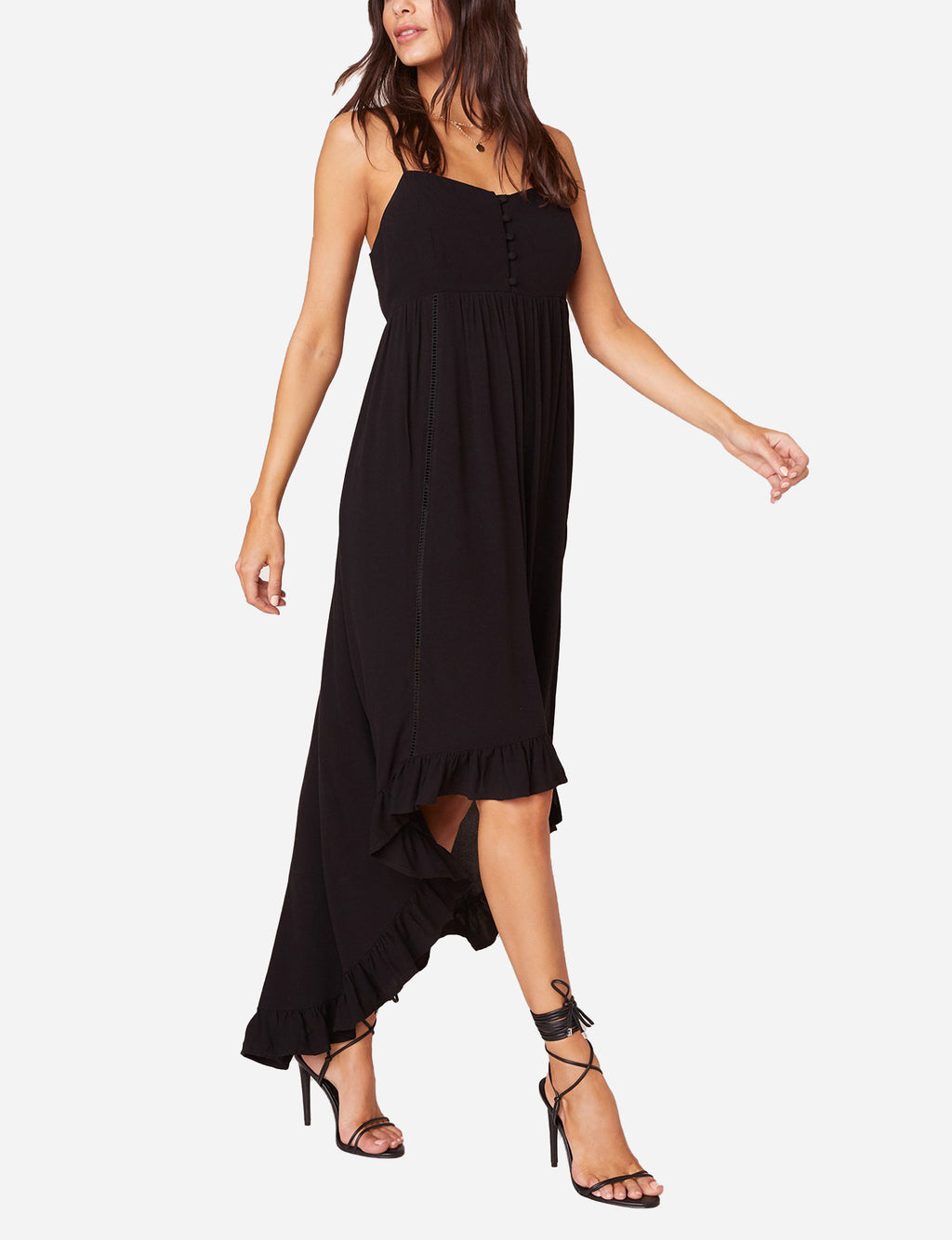 Highs and Lows Dress in Black