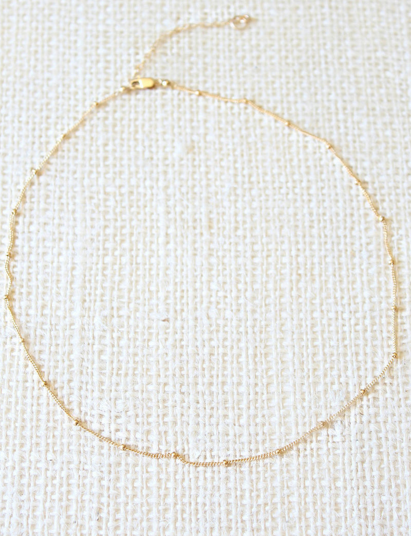 Canon Necklace in gold