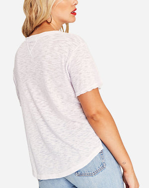 That Way Textured Tee in White