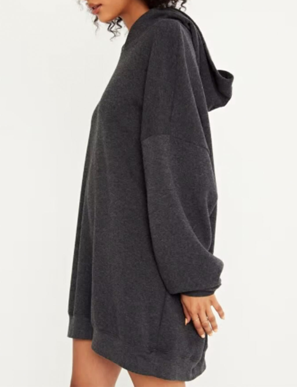 Everything Oversized Hoodie in Charcoal