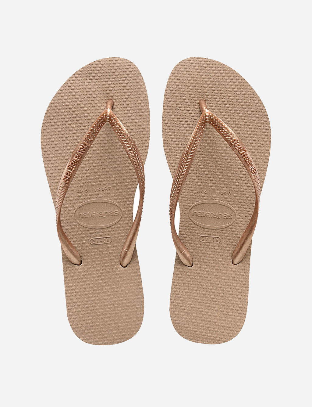 Havaianas Slim Sandal in Rose Gold