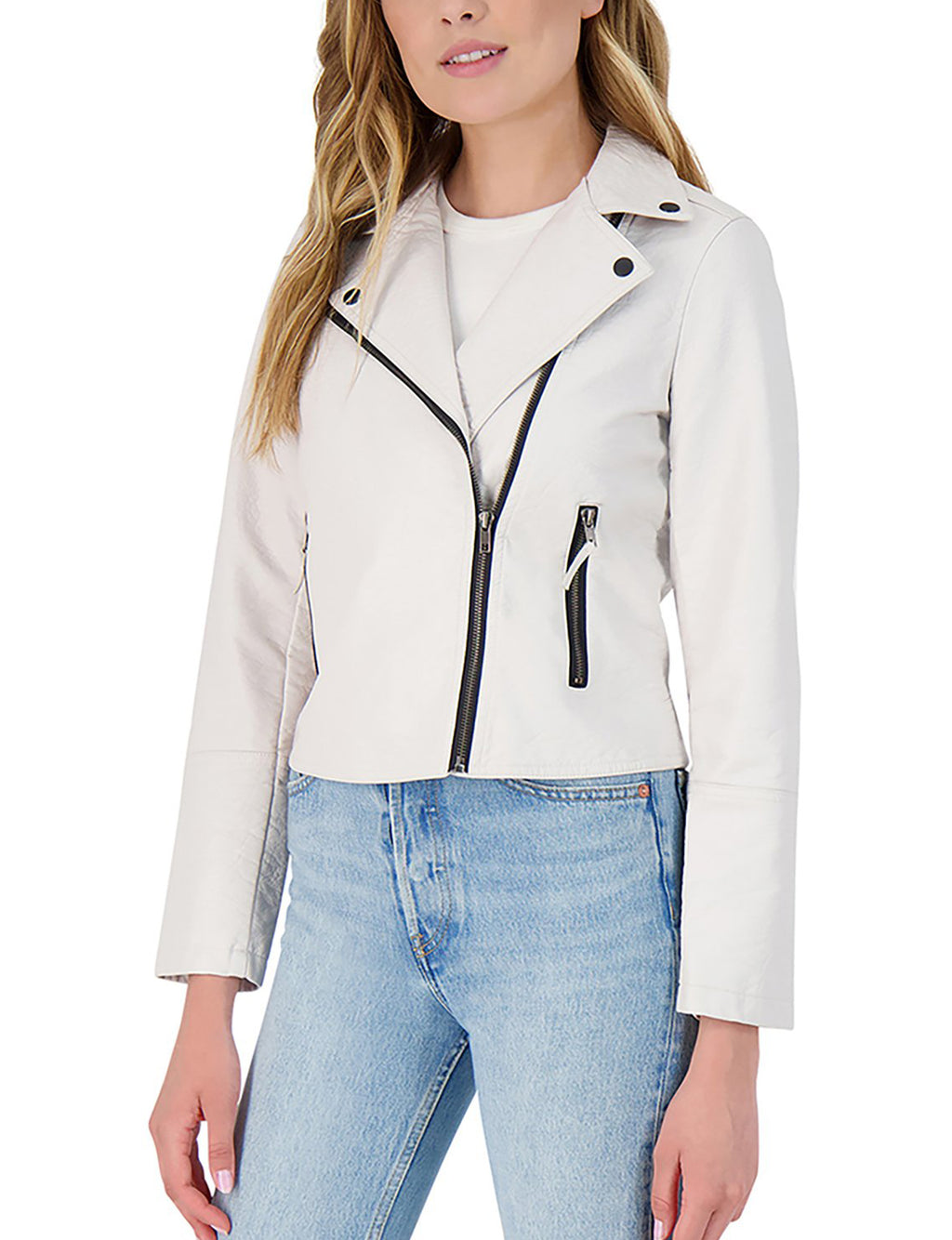 BB Dakota London Calling Moto Jacket in Bone