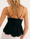 Free People Adella Cami in Black