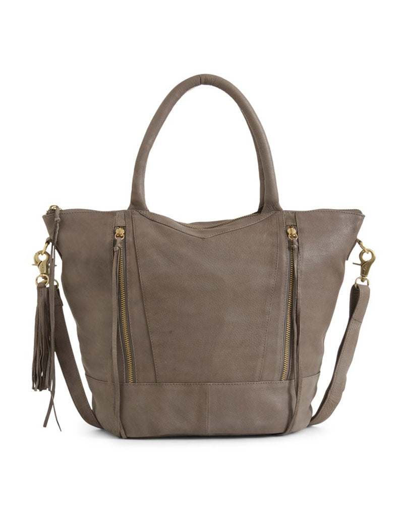 d6d4a0423ba3 Day & Mood Neel Satchel in Light Grey – Punch Clothing
