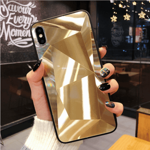 3D Diamond iPhone Case - Like Buy Love