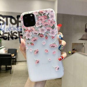 Falling Petals iPhone Case - Like Buy Love