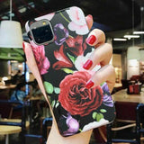 Wine Red Rose iPhone Case - Like Buy Love