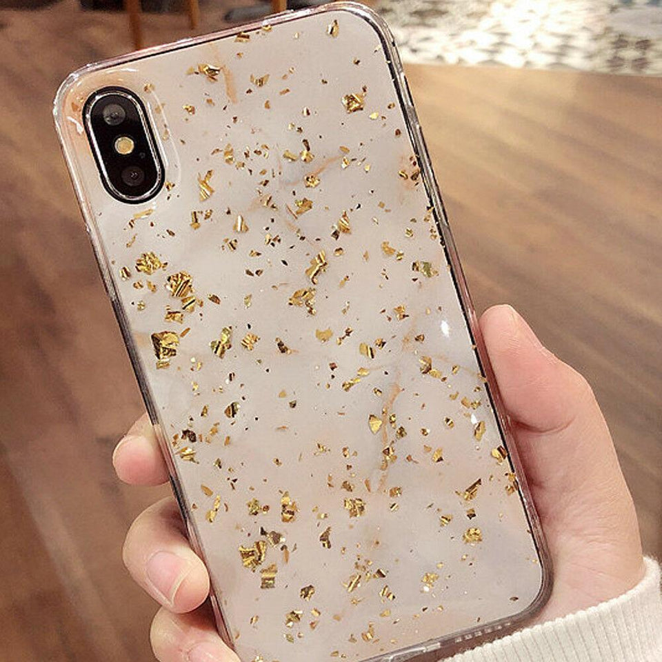 Gold Bling iPhone Case - Like Buy Love