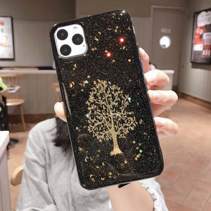 Tree of Life Glitter iPhone Case - Like Buy Love