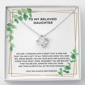 Beloved Daughter Necklace - Like Buy Love